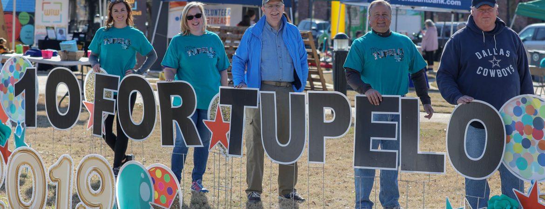 10 for Tupelo Sarah Beth McCarter Jenny Jones Ron Ashby Raymond Jourdan Martin Scarlett