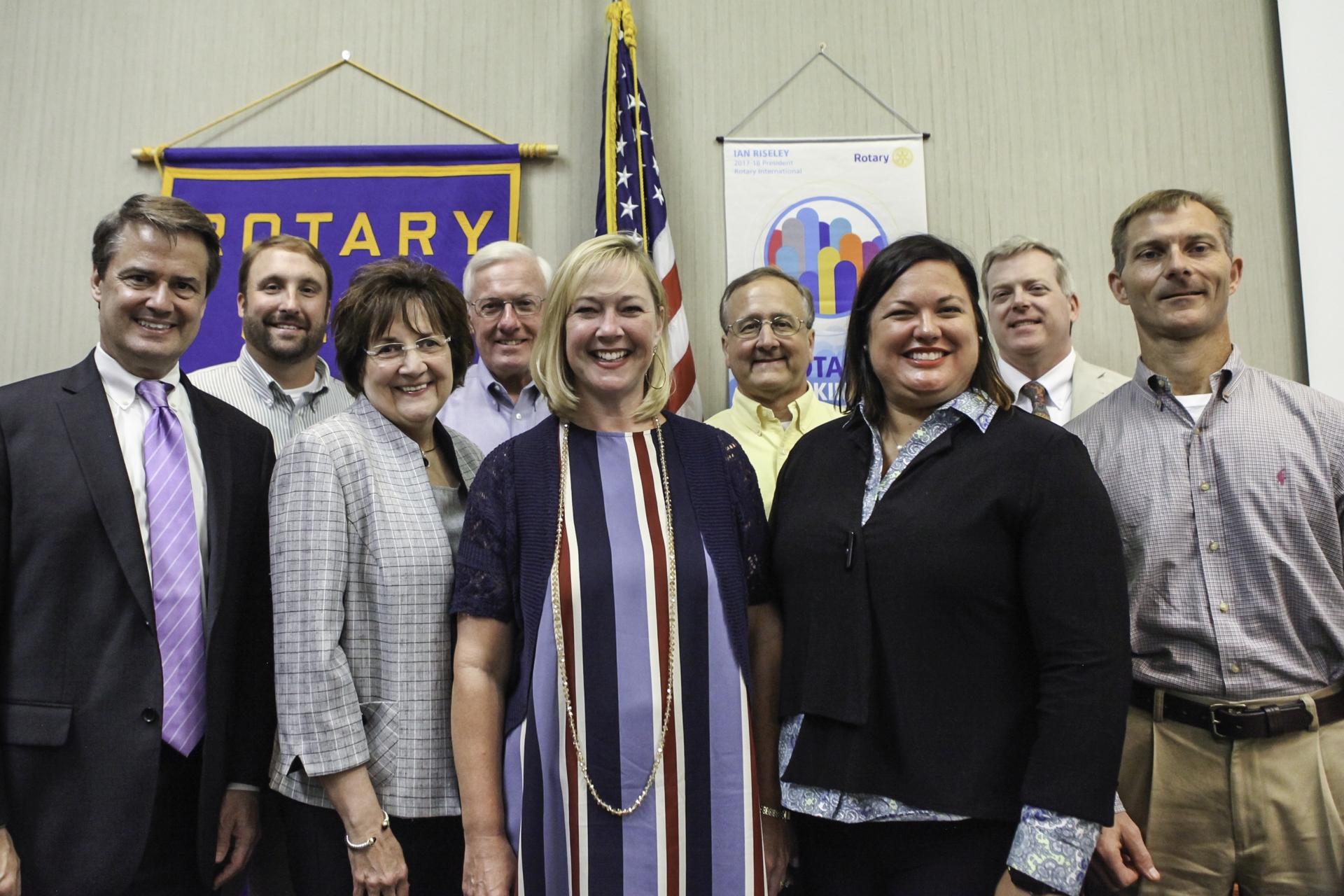 Rotary Board 2017-18